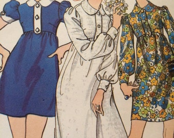 Cute Designer Dress Pattern---Butterick 5718---by Marcus Ors