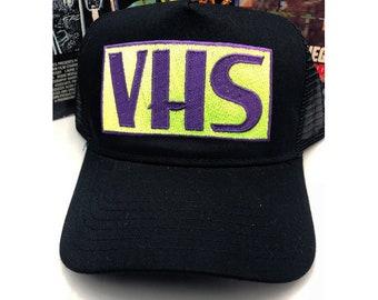 VHS trucker cap ver. 2.0 video cassettes