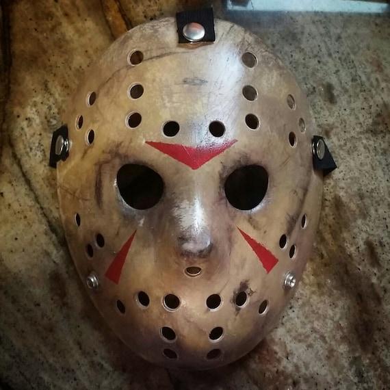 To Print For Jason Mask Pumpkin Stencil: Friday The 13th: Part 3 Jason Mask Replica