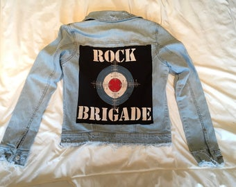Rock brigade jean jacket