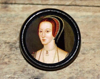 Tudor Queen ANNE BOLEYN Pendant or Brooch or Ring or Earrings or Tie Tack or Cuff Links