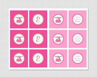 Korean Dol Hanbok Collection: Printable Cupcake Toppers