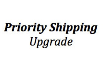 Priority Shipping Upgrade - Domestic Orders