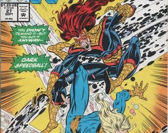 Marvel Comic les nouveaux guerriers, # 27 septembre 1992, bon état