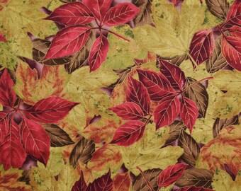 Shades of Fall Leaves - Custom Made Scrub Tops Nursing Uniforms