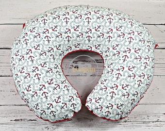Boppy Pillow Cover | Nursing Pillow Cover | Boppy Cover |Boppy Slip Cover | Baby Gift | Baby Shower Gift | Newborn Pillow Cover | Red Minky