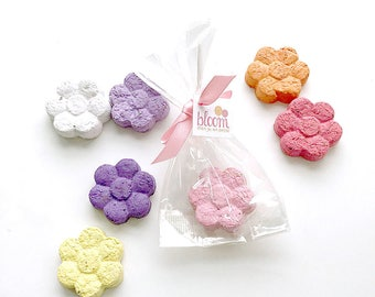 Plantable Seed Paper Flower Shapes - Unique Party Favors Butterfly or Herb Garden Seed - Optional Clear Bags & Custom Favor Tags