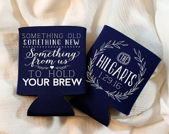 Something Old Something New Wedding Favors, Personalized Wedding Favors, Monogrammed Anniversary Party Favor, Rehearsal Dinner, Rustic, 1253