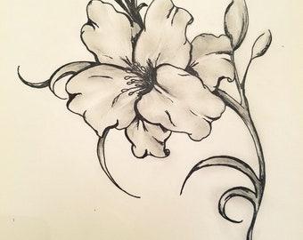 August Birth Flower the Gladiolus
