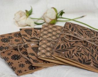 Midori Insert, Pocket Planner, Print Notebook, Painted Journal, Poem Book, Blank Scrapbook, School Gift, Minimalist Planner, Dream Journal
