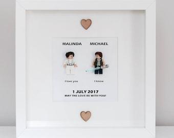 Star Wars Wedding Gift Frame