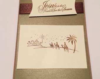 Merry Christmas cards, Happy Holiday cards, handmade cards,