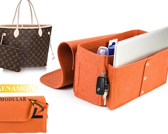 "For ""Louis Vuitton Bags"" Purse insert bag organizer bag insert organizer with Ipad & MacBook placer  ,EXPRESS SHIPPING"