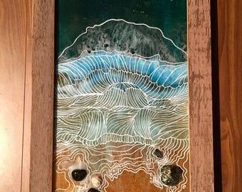Resin Seascape