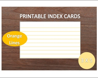 printable note cards 3x5
