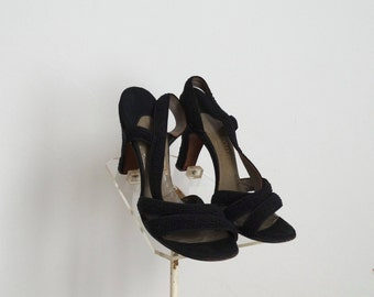 ON SALE - Vintage 1950s Shoes - 50s High Heels - The Geneva