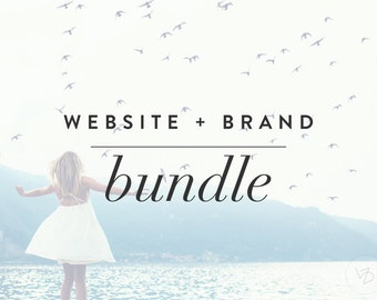 Beachbody Coaching Website Bundle - Logo, full branding, blog, links to shakology and other sales and 2 opt-ins