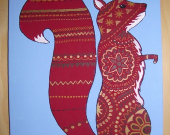 Decorated Squirrel