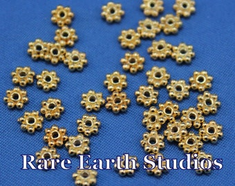 4mm Gold overlay spacers 60416033