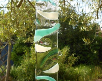 The Sea Collection Hanging Light Catcher / Suncatcher - Fused Glass