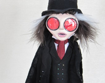 Jack The Ripper - Victorian Gothic Art Doll