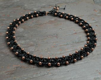 Double Beaded Silicone Necklace