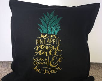 Be a pineapple decor pillow
