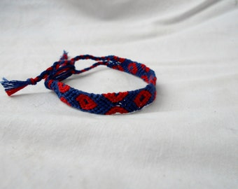 "Phish Fishman ""Phriendship"" Bracelet, macrame Fishman-inspired Phish bracelet, Phish donuts bracelet wristband or anklet"