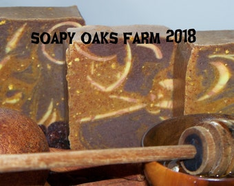 Orange Honey Natural Soap Bars