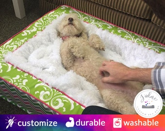 Blanket Dog Bed - Blanket Thief Approved!  Design to Your Style