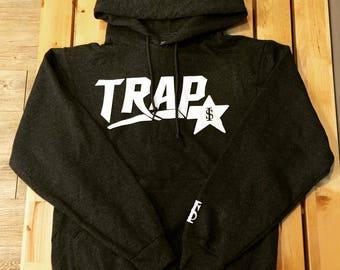 Trap Star Hoody Rapper Hip Hop Style