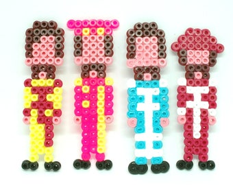 The Beatles Through The Years - 5 Bead Sprite Designs