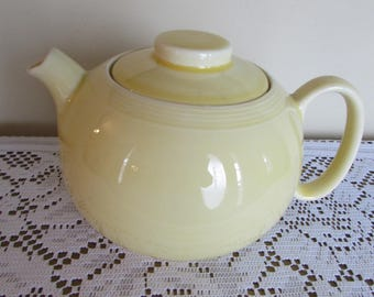 W. S. George Teapot Yellow 3 Cup Vintage 1950's