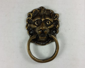 lion head ring pull etsy