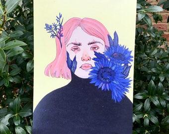 A4 Flower Series 1