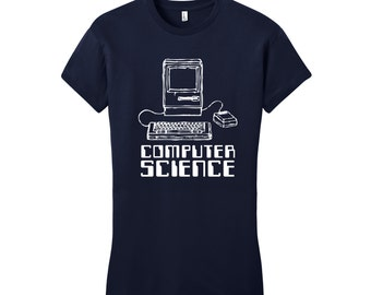 Computer Science Shirt, Women in STEM Shirt, Computer Geek Gifts, Computer Science Gift, Science Tee, Computer Programmer Gifts for Her