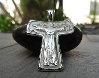 Franciscan Tau Cross. Sterling silver.