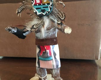 Navajo Sun Face Dancers Hand Crafted Figurines