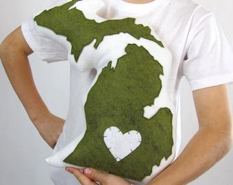 Customizable Michigan State Pillow