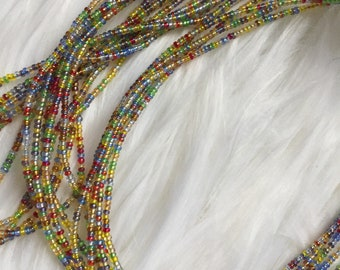 African Waist Beads - Style: Milca. 1 strand @ 2.50