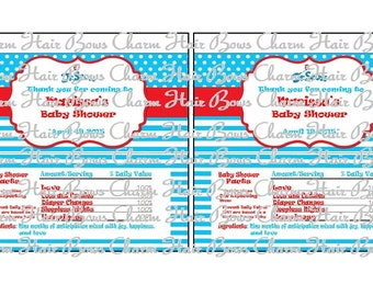 Dr. Suess Candy Wrappers
