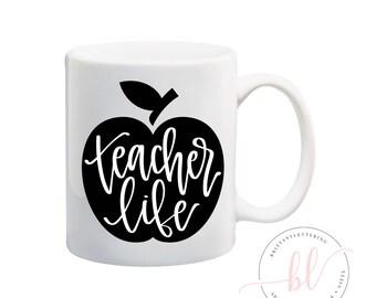 Teacher Life SVG - Teacher SVG - School SVG - Teacher Life - Teacher - Teacher Appreciation - Back To School svg