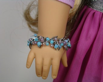 "Love to Layer Shaggy Bracelet for 18"" Play Dolls such as American Girl®"