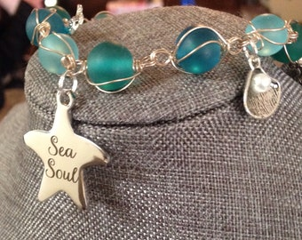 Beautiful Sea Soul Charm Bracelet