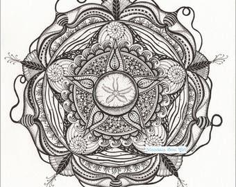 Mandala Soul Art - Ocean