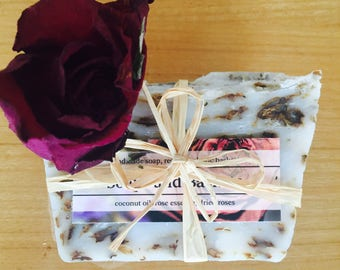 Rose oil soap Hair and Body