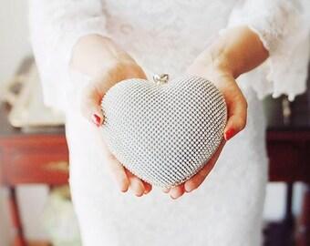 Bridal Clutch Bag -  Wedding Clutch Purse - Evening Clutch - Formal Purse - Bouquet Clutch