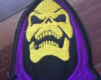 Patch Skeletor - He man enemy - Castle Grayskull - Eternia - Master of the Universe