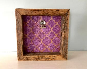 Shadow Box - Picture frame - Reclaimed Barn Wood