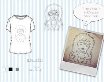 """t-shirt """"Daria 2"""""""